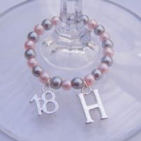 18th Birthday Wine Glass Charms